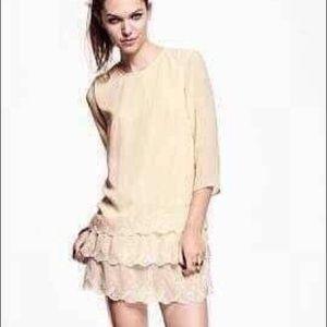 """H&M lace dress bust 36"""", hip 40"""",length 31"""""""